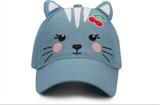Kids 3D Cap - Cat