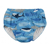 Iplay Swim Snap Reusable Absorben Swimsui DiaperBlue Whale League