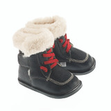 AINSLEY My Boots Front Lace Black