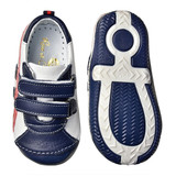 Rose et Chocolat Sneakers White Red and Navy