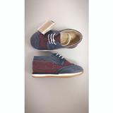 Babywalker EXC-P5057 BLUE-BORDEAUX