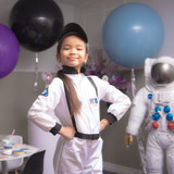 ASTRONAUT SET WITH JUMPSUIT, HAT & ID BADGE (size 5-6y)