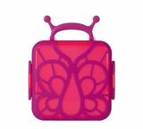 Bento Butterfly Purple Lunch Box
