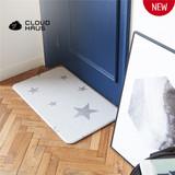 CREAMHAUS CLOUD KITCHEN MAT-VINTAGE STAR GRAY