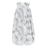 Perlimpinpin Bamboo muslin sleep bag - Leaves (1 tog)