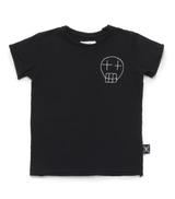 NUNUNU Embroidered Sketched Skull TShirt