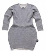 Nununu Balloon Dress-Grey