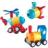 1-2-3 Build It! Rocket-Train-Copter