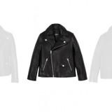Mackage Unisex Kids Leather Motorcycle Jacket