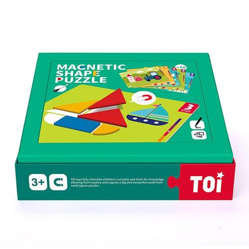 TOI Magnetic Shape Puzzle