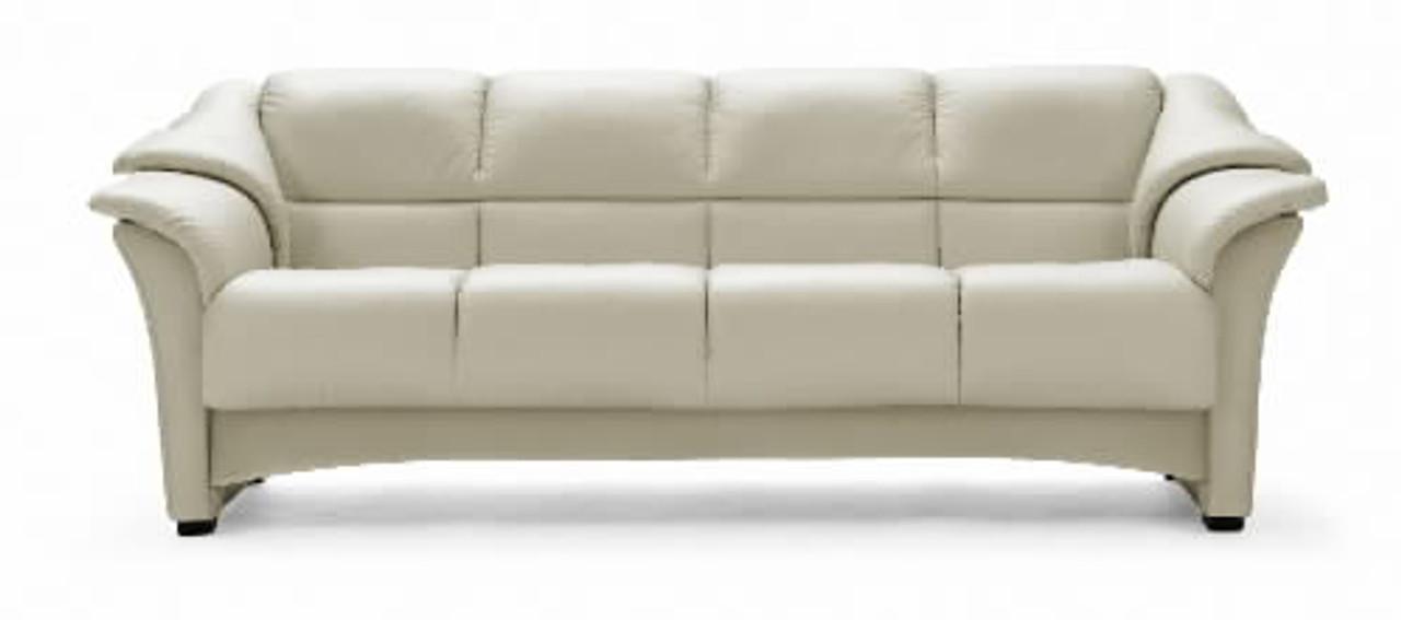 Ekornes Oslo Upholstered Trim Sofa