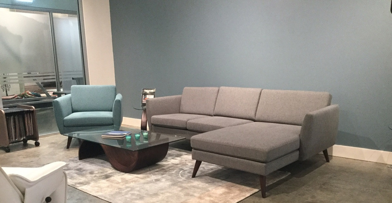 Fjords Nordic Sectional Sofa | Sectional System with Chaise Lounge