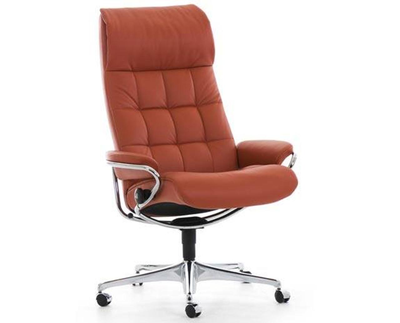 Stressless London High Back Office Chair By Ekornes