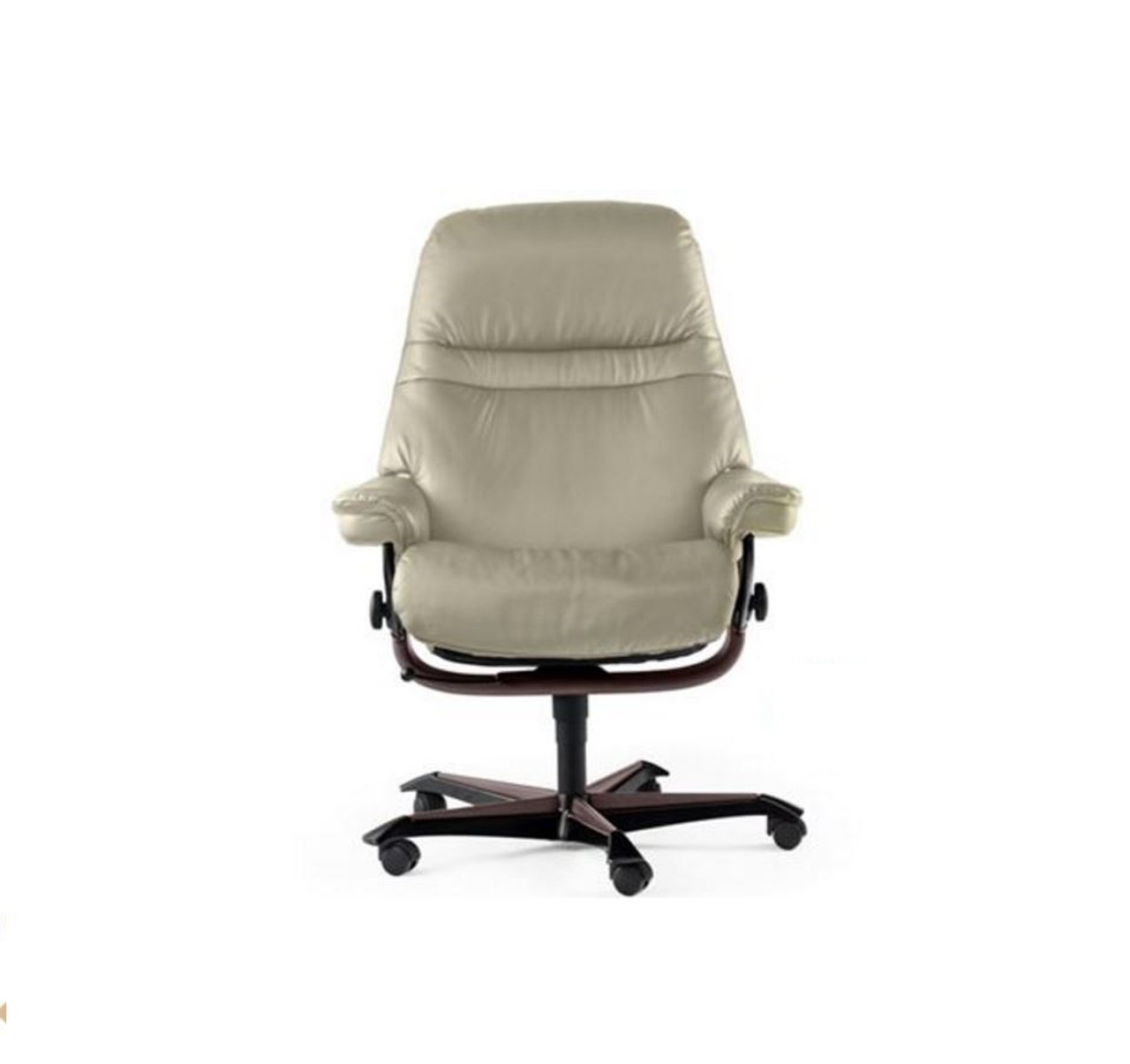 ekornes stressless sunrise office chair clearance priced model