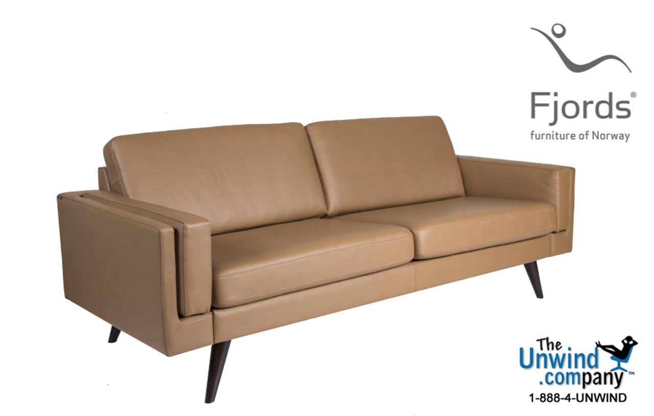 Fjords Nordic 3-Seater Duo Sofa - Hjellegjerde | On Sale