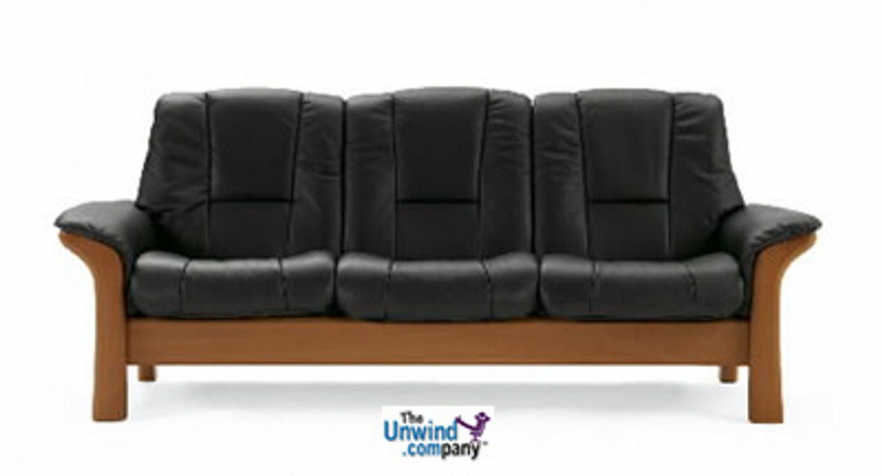 Ekornes Stressless Buckingham Low-Back- 3 Seat Sofa