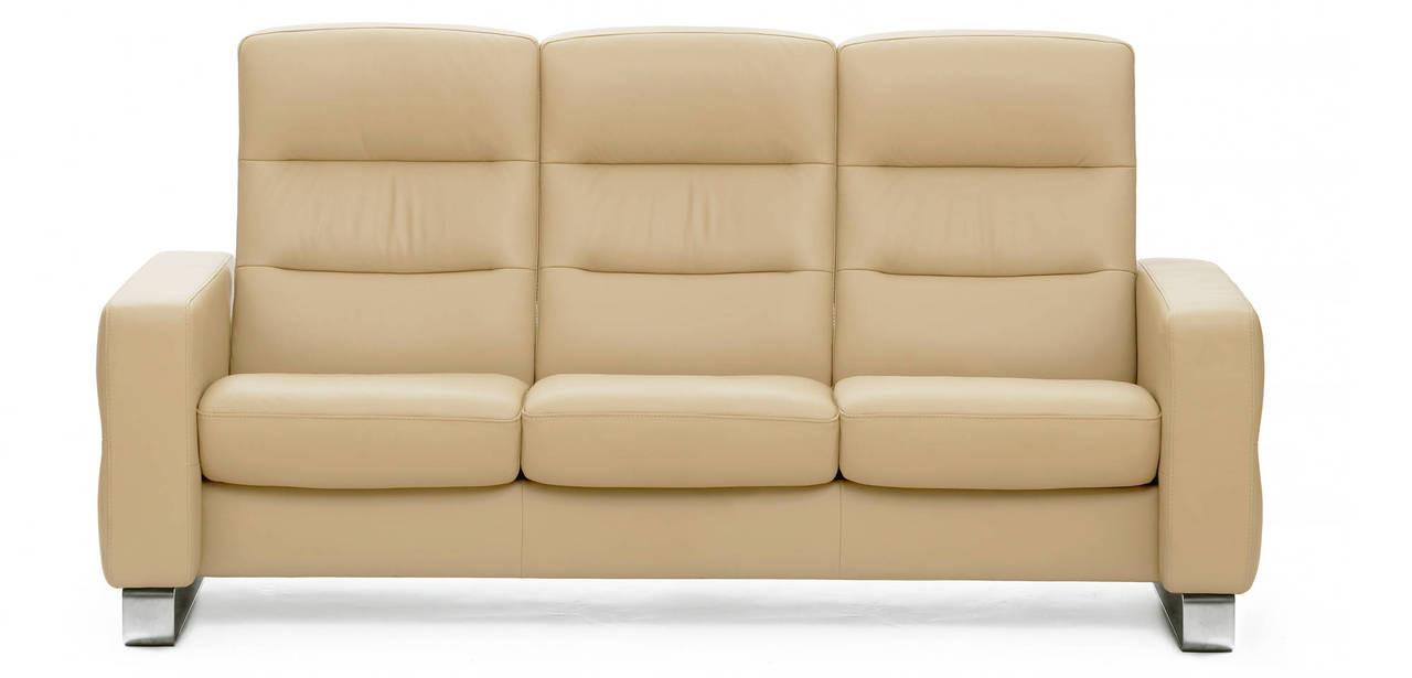 Ekornes Stressless Wave- High-Back 3 Seat Sofa