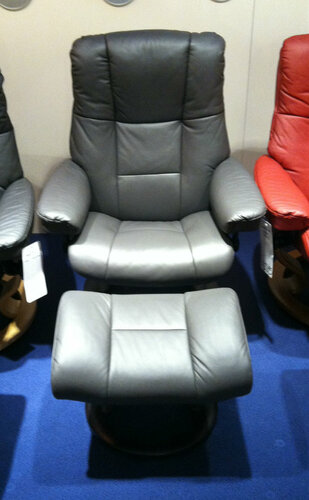 Stressless Admiral Large Recliner And Footstool On Sale