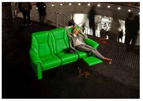 Ekornes Stressless Eldorado High Back 3 Seat Sofa Ships