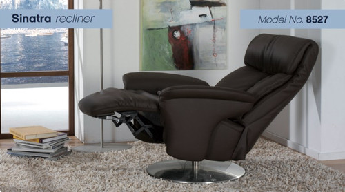 Sinatra Recliner With Integrated Footrest By Himolla Unwindcom