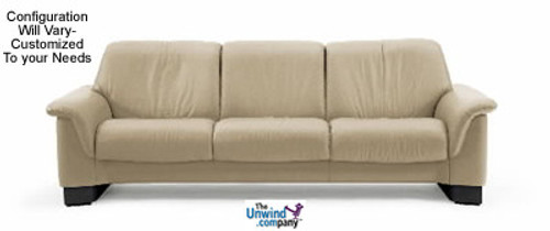 Prime Ekornes Stressless Paradise Medium Low Back 3 Seat Sofa Download Free Architecture Designs Intelgarnamadebymaigaardcom
