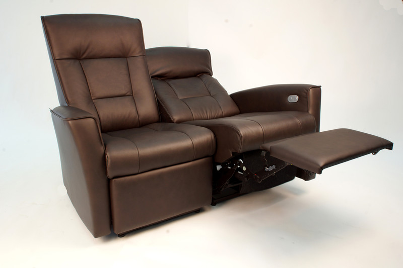 Fjords Ulstein Reclining 2-Seat Love-seat- Ships Free