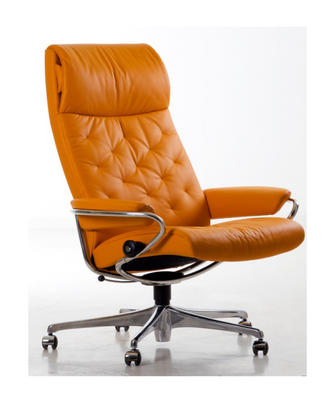 Stressless Metro Office Chair High Back Option