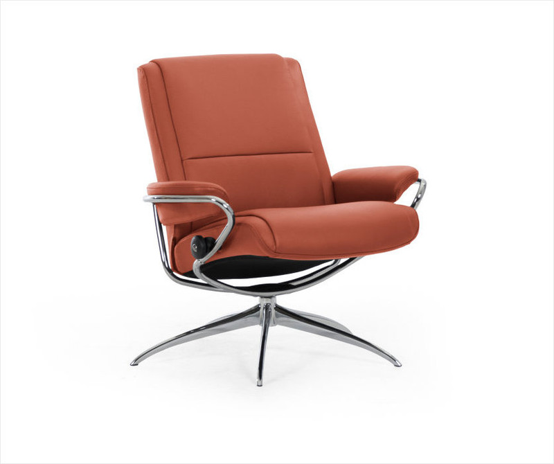 Awe Inspiring Ekornes Stressless Paris Low Back Recliner With High Base Creativecarmelina Interior Chair Design Creativecarmelinacom