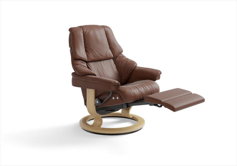 Stressless Reno Recliner Signature Series Or Leg Comfort Powered