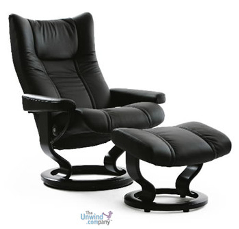 Cool Stressless Wing Recliner And Ottoman Small Nationwide Inside Delivery Evergreenethics Interior Chair Design Evergreenethicsorg