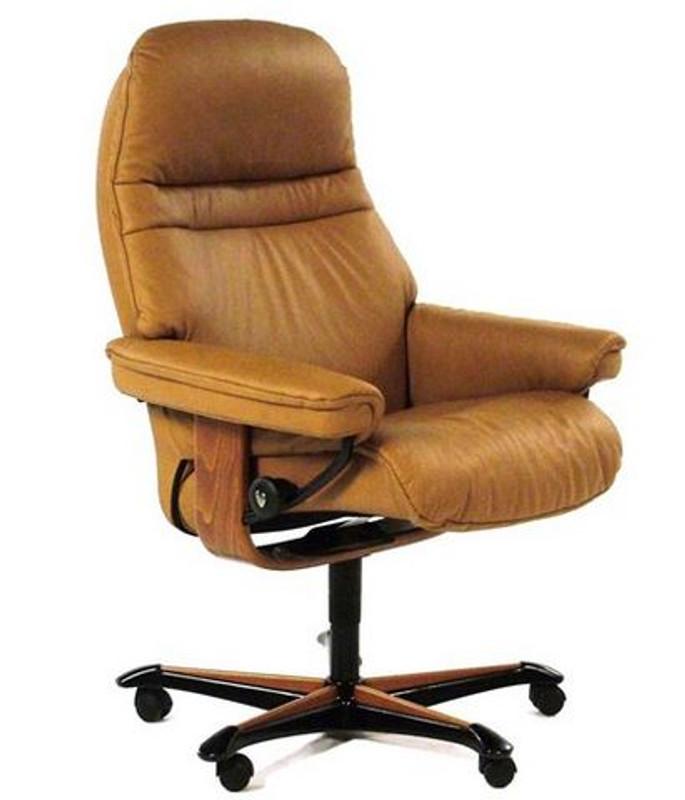 Ekornes Stressless Sunrise Office Chair Clearance Priced Model