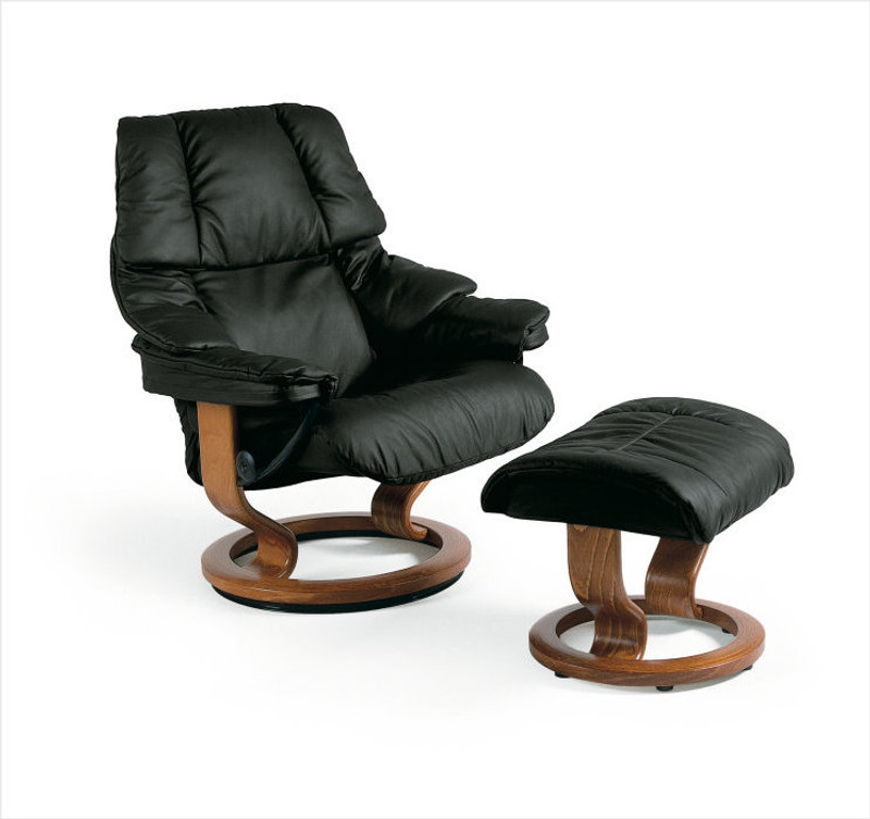 Magnificent Ekornes Stressless Reno Recliner And Ottoman Clearance Ibusinesslaw Wood Chair Design Ideas Ibusinesslaworg