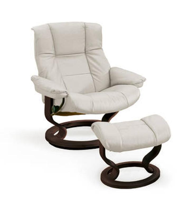 Marvelous Stressless Mayfair Medium Chair With Ottoman Stress Free Delivery Frankydiablos Diy Chair Ideas Frankydiabloscom