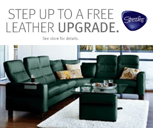 2021 Stressless Leather Upgrade Promotion image