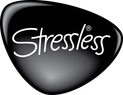 Stressless Logo- Black and White