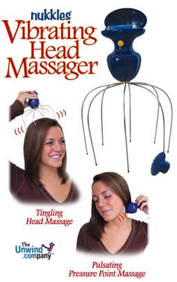 Photo of the Nukkles Vibrating Head and Scalp massager
