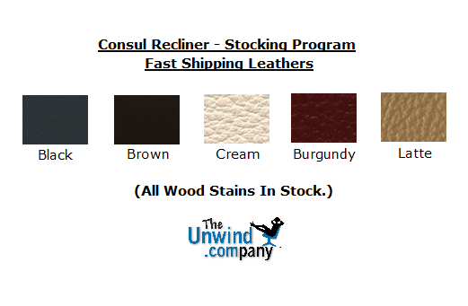 Choose a stocked color for faster shipping on your Consul Chair by Ekornes.