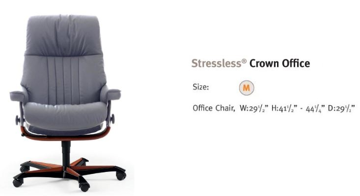 Crown- Office Chair of Royal Proportions