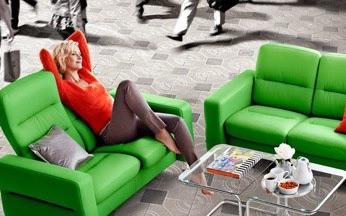 Relaxing in a Ekornes Stressless Sofa Set image