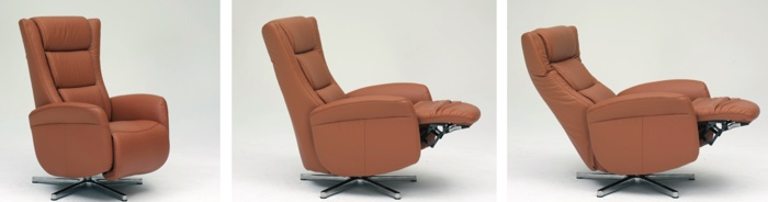 Himolla Gert Recliner in 3 Positions