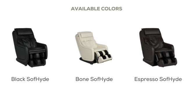 Human Touch ZeroG 5.0 Massage Chair Color Options image