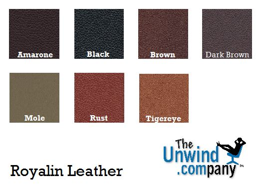 Royalin Leather Choices for Stressless Furniture