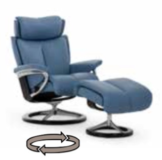 Stressless Magic Recliner with Signature Series Base