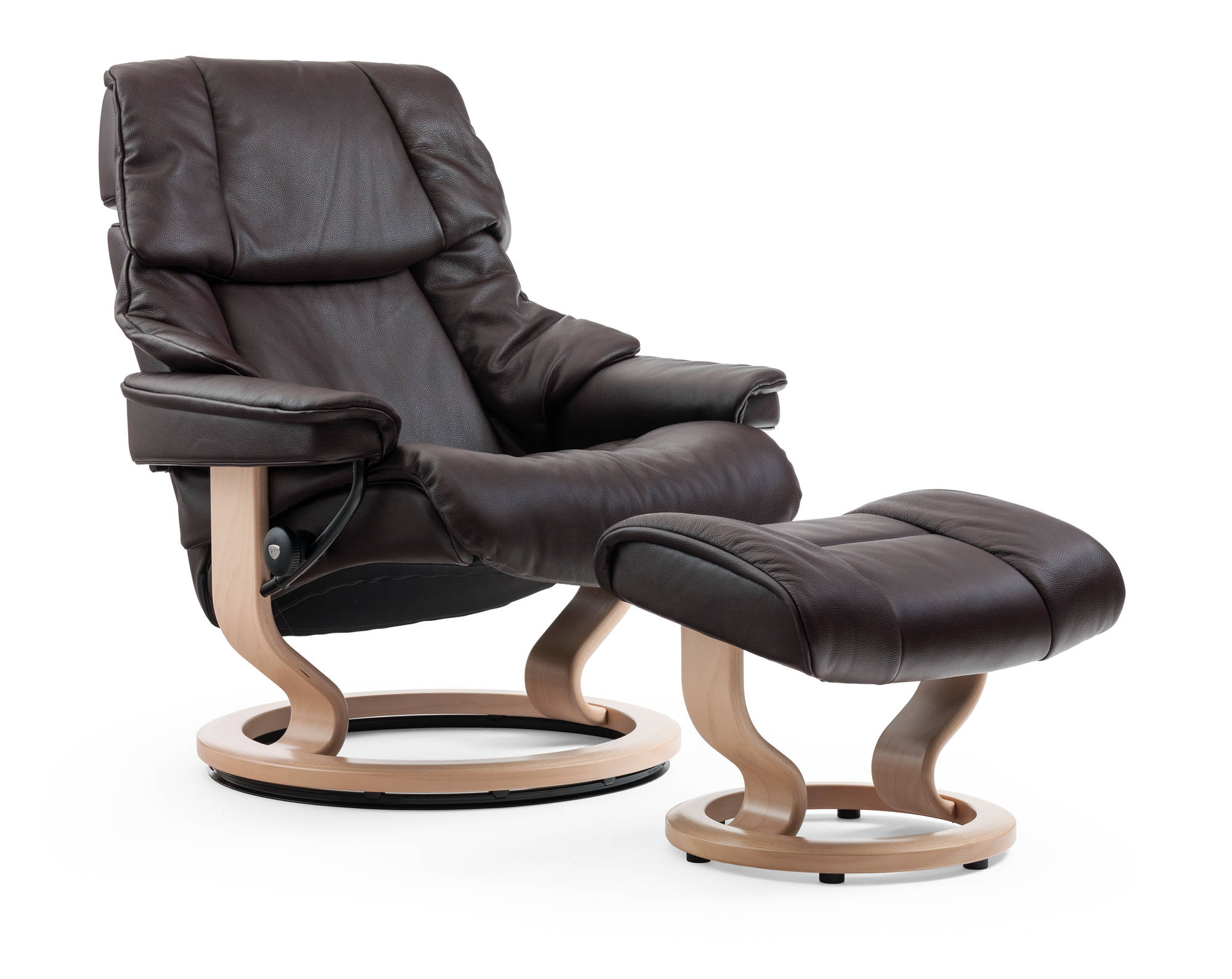 New Cori Leather from Ekornes on Vegas Recliner.