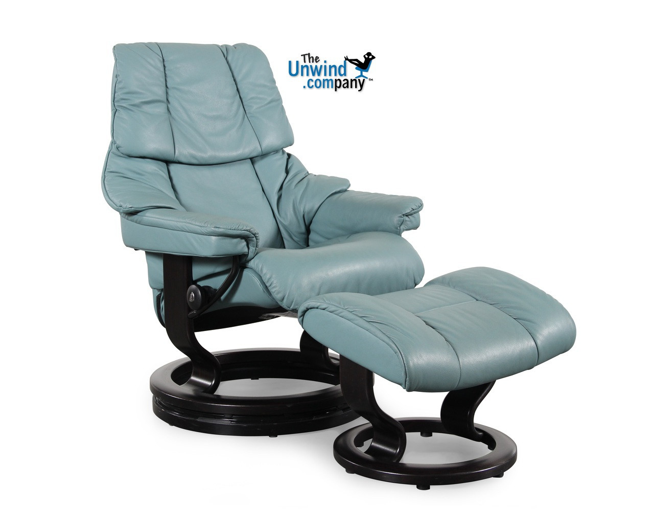 Terrific Ekornes Stressless Reno Large Recliner With Ottoman Aqua Ocoug Best Dining Table And Chair Ideas Images Ocougorg