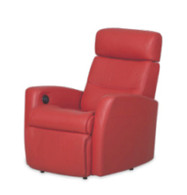 The IMG Divani 325 Wall Saver Chair- Brighten your room and enjoy serious relaxation.