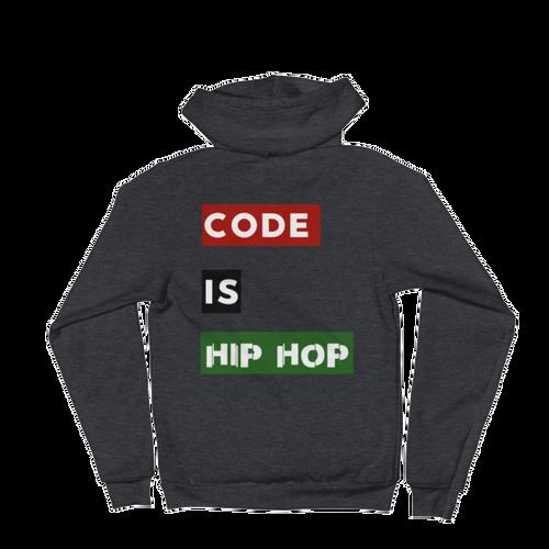 Code Is Hip Hop Hoodie