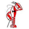 Rocky Lobster Bubble-free stickers