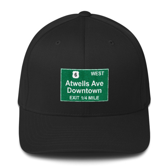 Atwells Ave Exit Structured Twill Cap