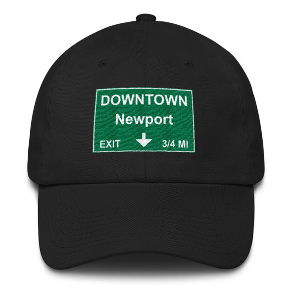 Downtown Newport Exit Cotton Cap